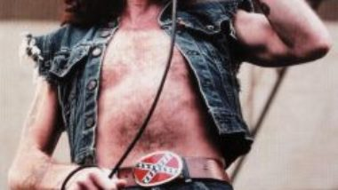 Bon Scott from AC/DC