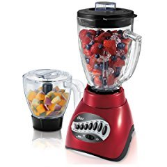 Oster BLSTCC-RFP 16 Speed Blender with Food Processor, Red
