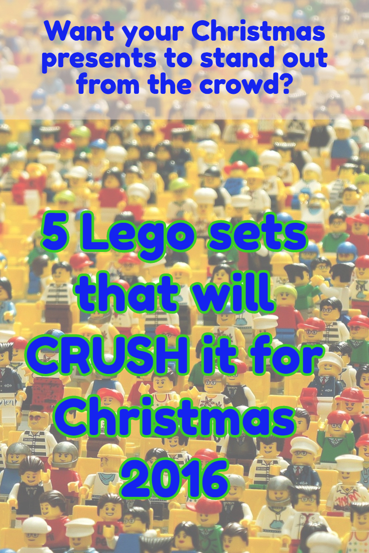 5 Lego sets to crush it Christmas 2016