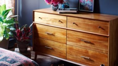 Modern Six Drawer Dressers