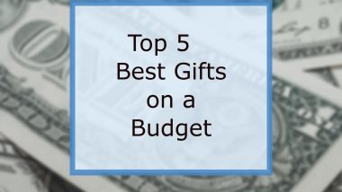 best gifts on a budget
